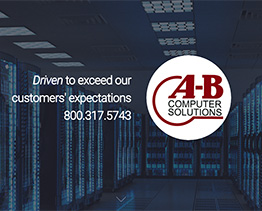 Website for A B Computer Solutions in Mandeville, LA