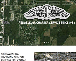 Charter Flight Services and Airplane Flight Lessons