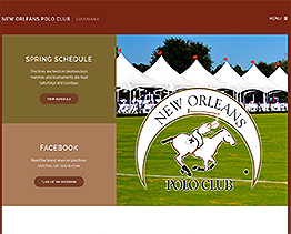 Latest Website Client New Orleans Polo Club